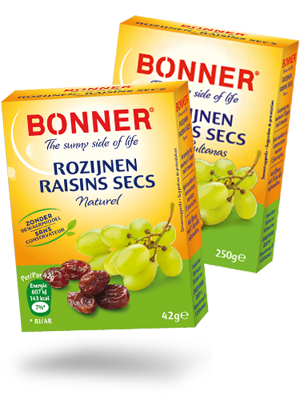 Bonner - raisins